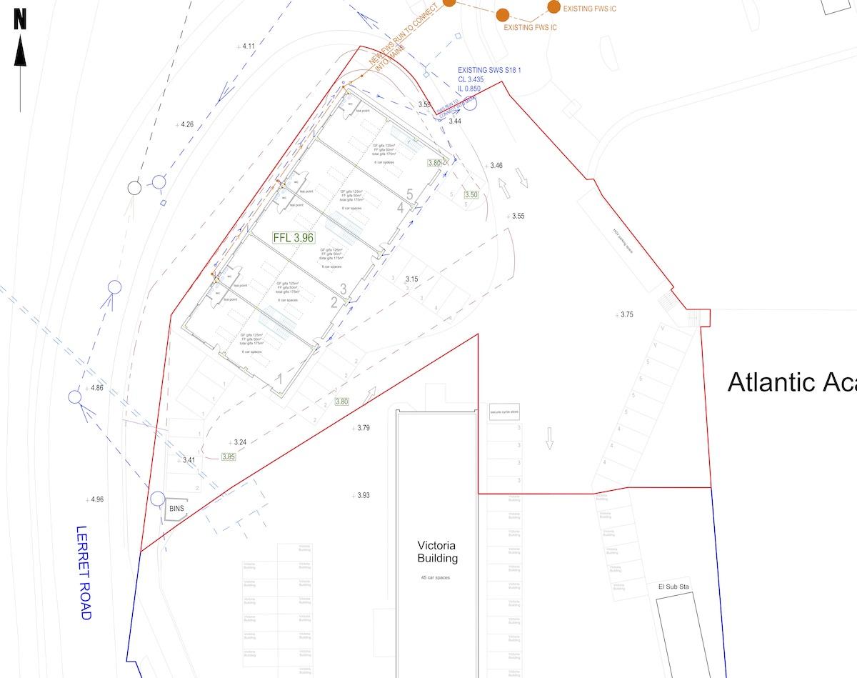 Victoria Site layout
